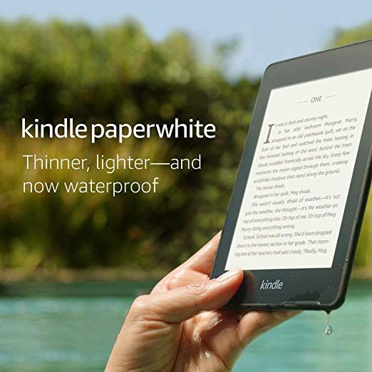 Now Available In Black Or Twilight Blue The Thinnest Lightest Kindle Paperwhite Yet With A Flush Front Design And 300 Ppi Paperwhites Kindle Paperwhite Kindle