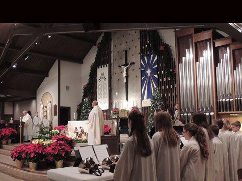 St. Monica Parish and School // Creve Coeur MO -- my church :)