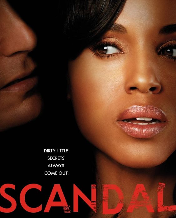 Scandal - if you don't already watch it then we have plenty of time to catch you up! One of my favorite shows.: