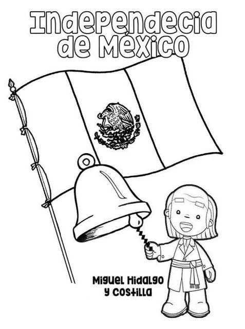 Tu Tarea Portada De La Independecia De Mexico Septiembre Preescolar Manualidades 15 De Septiembre Para Ninos Dibujos De La Independencia