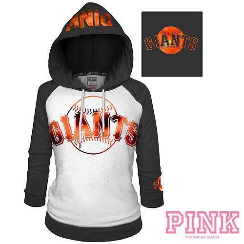 LOVE LOVE LOVE!!! San Francisco Giants Victoria's Secret PINK® Raglan Pullover Hoodie - MLB.com Shop