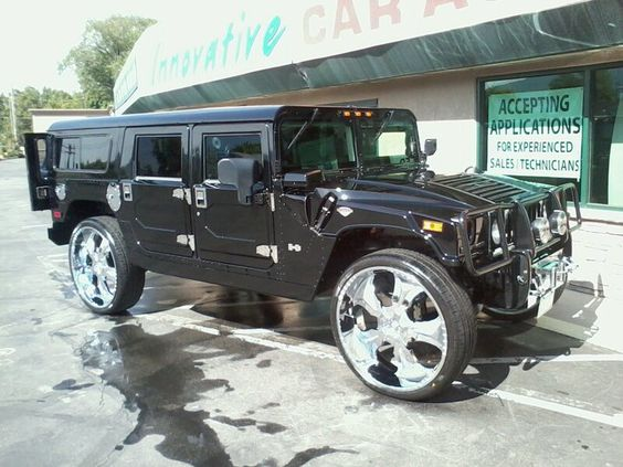 Photo of Al Jefferson Hummer - car