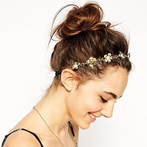 Buy Spring Buds Headband with Elastic Band by Lily Wang on OpenSky