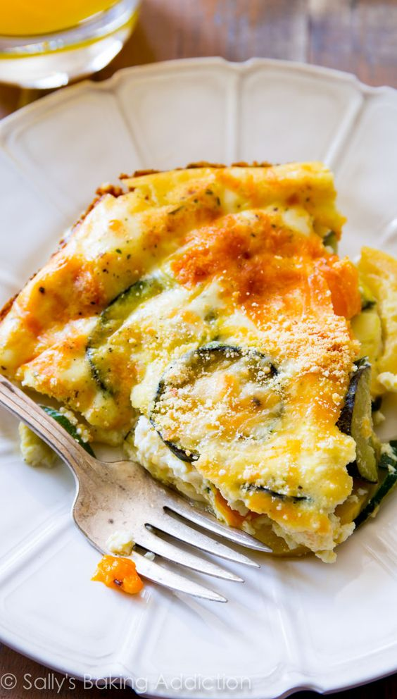 Quiche, Veggie quiche and Veggies on Pinterest