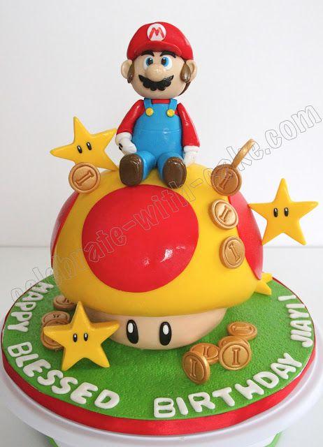 Celebrate with Cake!: Super Mario Cake: