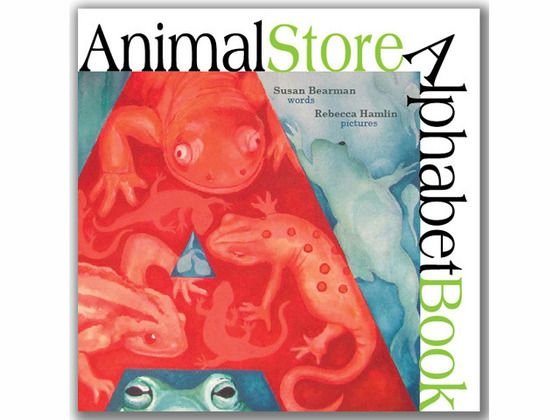 Animal Store Alphabet Book by Susan Bearman and Rebecca Hamlin, via Kickstarter.