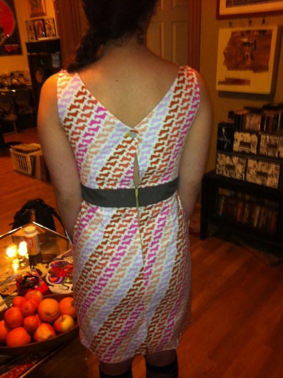 Weiner dog dress!