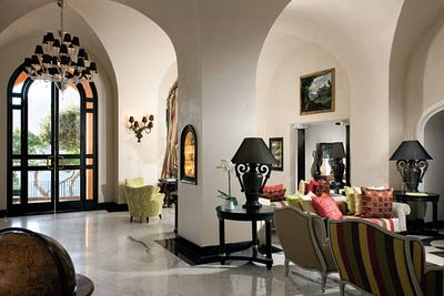 I love the high ceilings and arches