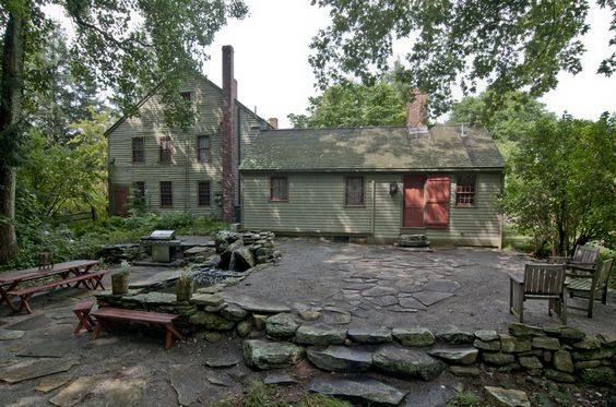1710 Early New England Colonial Houses 1 Pinterest