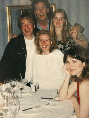 Alan Rickman, Emma Thompson and others. Around 1995 (Sense and Sensibility period)