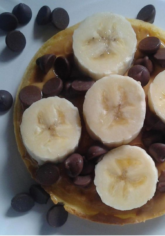 Eggo Peanut Butter Banana Waffle Delight is a delicious ...
