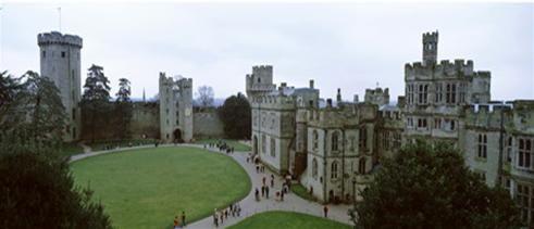 Wawich castle, England.