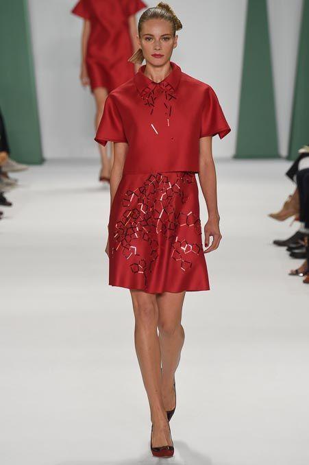 Carolina Herrera Spring 2015 Ready-to-Wear Collection Style.com