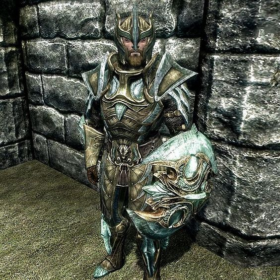 skyrim glass armor | The Glass Armor from Skyrim? No, doesn't really look like what Lavitz ...