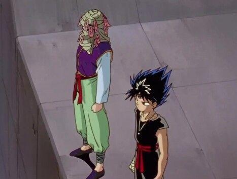Mukuro and Hiei