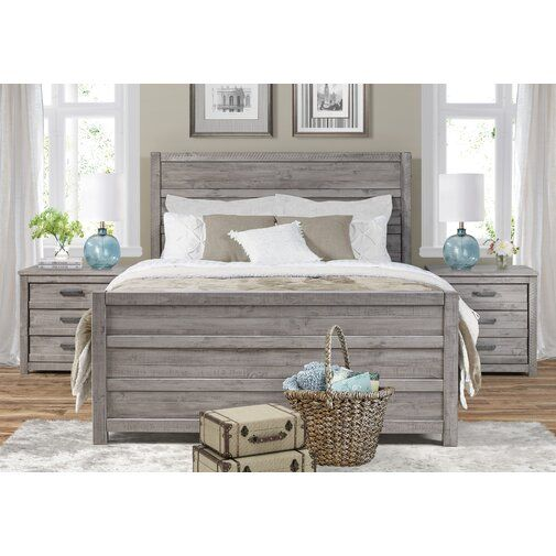 The Midtown Solid Wood Grey Bedroom Set Will Bring Modern Charm And Harmony To Your Master Retreat With I Wood Bedroom Sets Grey Bedroom Set Home Decor Bedroom