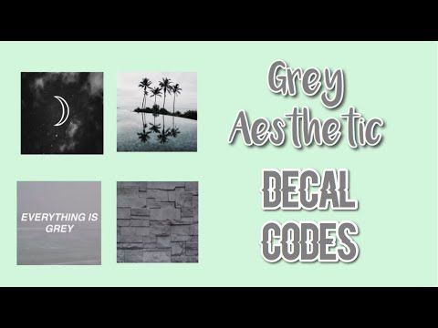 Roblox Bloxburg Grey Aesthetic Decal Id S Youtube Gray