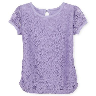 Arizona Lace Top Girls 2t 5t jcpenney $7 00