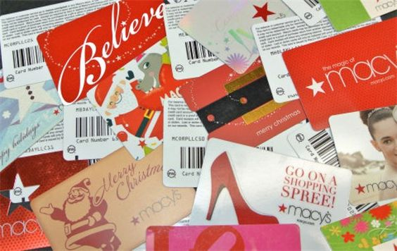 Using Gift Cards with Today's technology: Shout Out to Macy's!