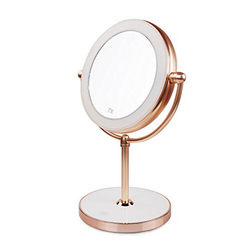 Vanity Mirror With Led Lights Natural Lighted Cosmetic Mirror With 7x Magnification 360 Degree Swivel R Makeup Mirror With Lights Mirror With Led Lights Mirror