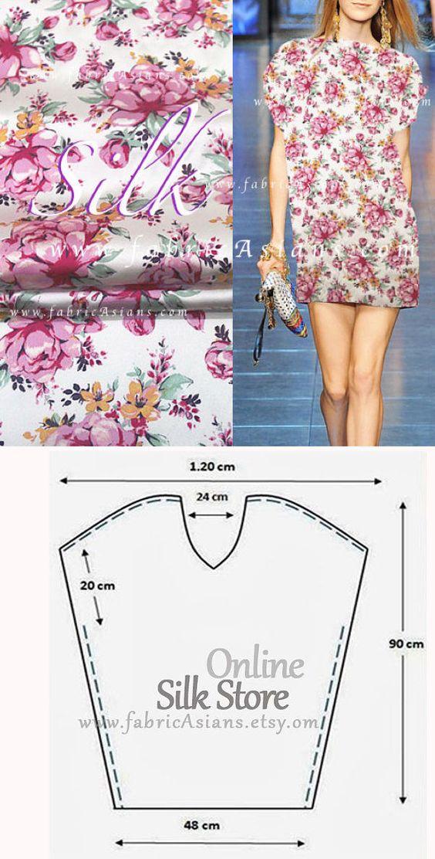 Easy Dress Pattern one hour dress sewing pattern