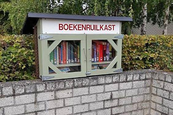 Boekenruilkast Diepenbeek