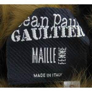 Home > Jean Paul Gaultier > Knitwear > Jean Paul Gaultier Black Ribbed ...