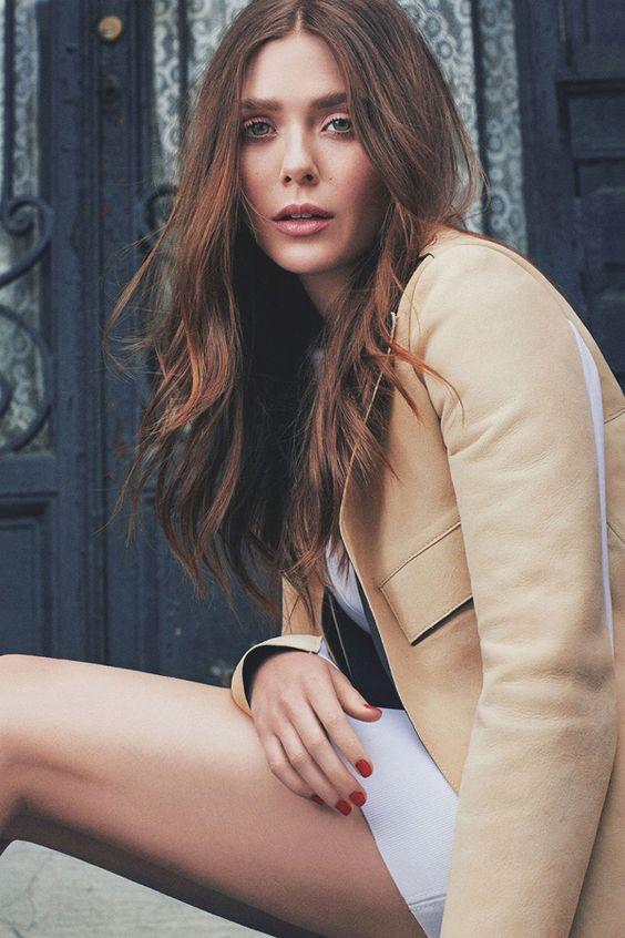 Elizabeth Olsen for Numéro Tokyo September 2014 #style #fashion #olsens