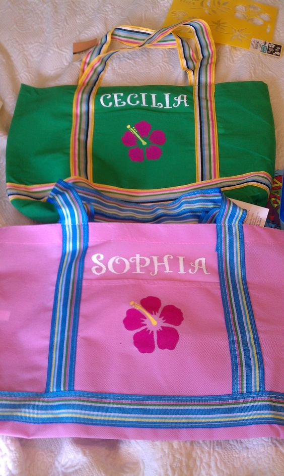 Pool Bag Party favors