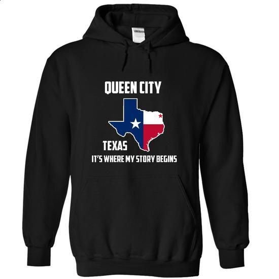 Queen City texas Its Where My Story Begins! Special Tees 2014 - #t shirt creator #men dress shirts. GET YOURS => https://www.sunfrog.com/States/Queen-City-texas-Its-Where-My-Story-Begins-Special-Tees-2014-9364-Black-7762806-Hoodie.html?id=60505