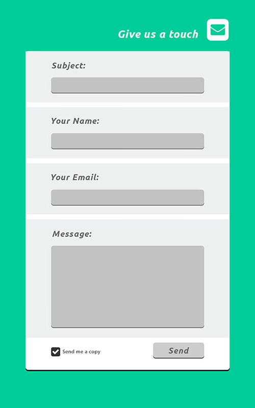 Pin by Muhibul Haque on Contact Form Pinterest Contact form - feedback form template free