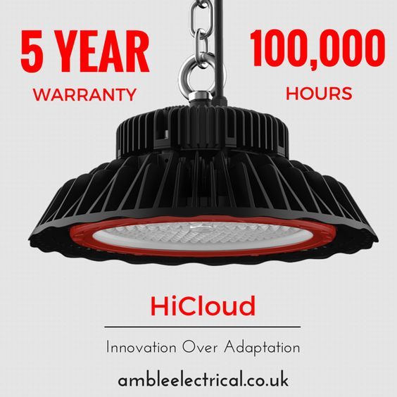 Innovation over adaptation - HiCloud high-bay #LED #lighting : http://www.ambleelectrical.co.uk/c