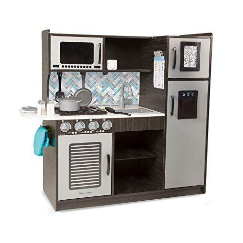 Melissa Doug Wooden Chef S Pretend Play Toy Kitchen Wit Https Www Amazon Ca Dp B01b1v32n8 Ref Cm Sw R Wooden Play Kitchen Best Play Kitchen Toy Kitchen