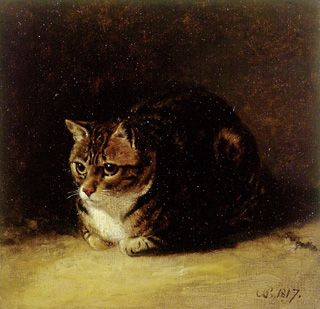 Abraham Cooper (1787 - 1868) Study of a Cat 1817 Collections: Paintings Collection: Search - Ashmolean Museum
