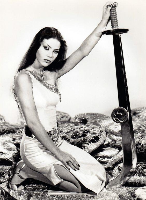 mudwerks: Ornella Mutti - c.1980As Princess Aura. Publicity still for Flash Gordon (1980).