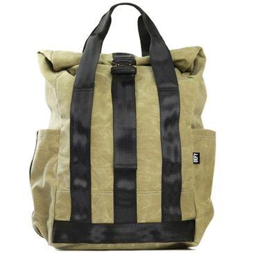 VerBockel Rolltop Backpack   Desert Tan Wax Canvas