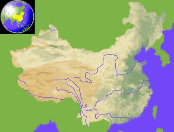 Interactieve kaart van China