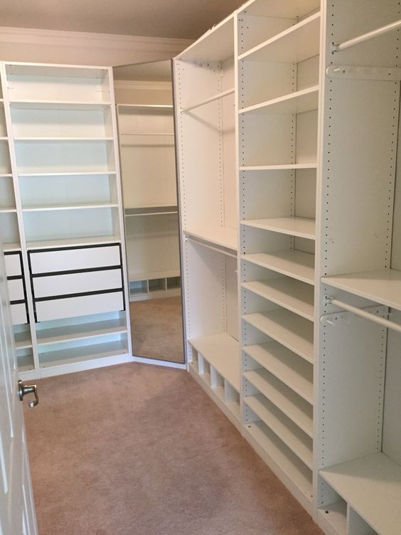 walk in closet pax ikea shoe storage for kriss along bottom of hanging items
