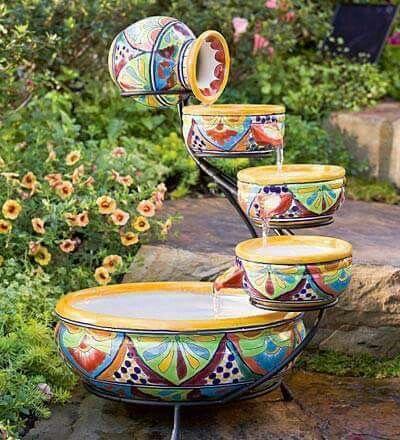 estanques cascadas jardines jardines hermosos jardn fuentes fuentes agua fuente mexicana mexicana de lindas detalles hermosos