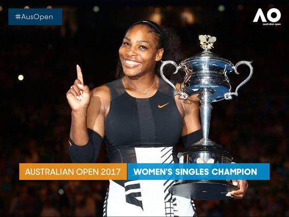Open Australia 2017 Ganadora: