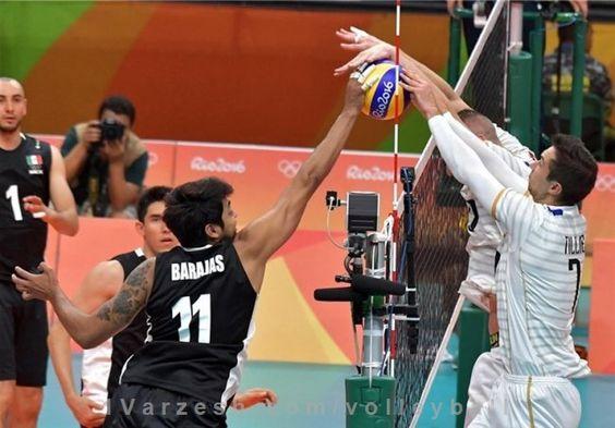 فرانسه به راحتی مکزیک را شکست داد  http://1vz.ir/138005  تیم ملی والیبال فرانسه در بازی دوم خود در المپیک 2016 ریو به راحتی بر حریف خود مکزیک غلبه کرد.          تیم ملی والیبال فرانسه در بازی دوم خود در المپیک 2016 ریو با نتیجه 3 بر صفر مکزیک را شکست داد.   تیم ملی فرانسه که بازی اول خود را به ایتالیا باخته بود در بازی دوم به راحتی و در 3 ست متوالی با نتایج 25 بر 18، 25 بر 12 و 25 بر 22 مکزیک را از پیش رو برداشتند.   تیم ملی ایران نیز در بازی دوم خود از ساعت 35 دقیقه بامداد ف..