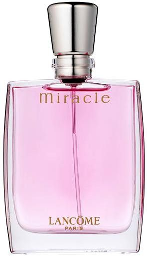 Lancome Designer Perfume. Miracle perfume for women, made by Lancome, was launched in 2001(so thats why I only have a little left:(. This fragrance for women contains a blend of fresh and spicy florals, with lower notes of amber and jasmine. This women's fragrance is simply amazing and smells fantastic!