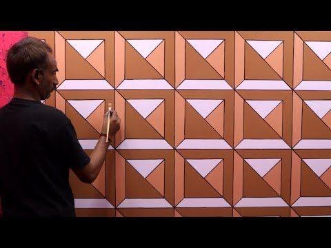 3d Wall Texture Design 3d Wall Painting 3d Wall Decoration Effect Design Ideas Interior Design Youtube 3d Wall Painting 3d Wall Wall Texture Design