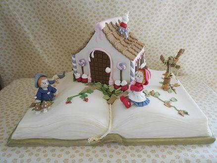 Hansel e Gretel  Cake by oriettabasso