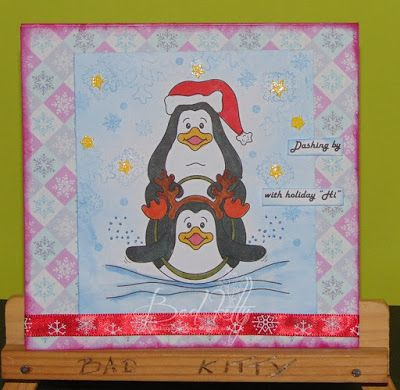 Bad Kitty's Craftroom: penguins