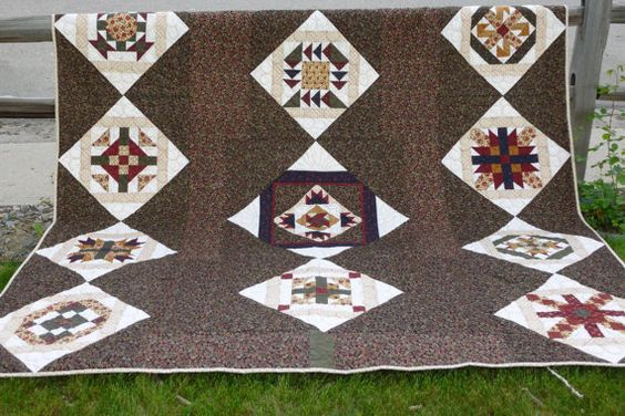 Beautiful Handmade Quilt by GraceFound on Etsy