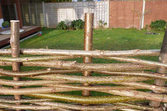 Sichtschutzelement Aus Haselnuss 120cm X 180cm Papillon 76 99 Sichtschutzelemente Rustikale Toilettenpapierhalter Sichtschutz Garten