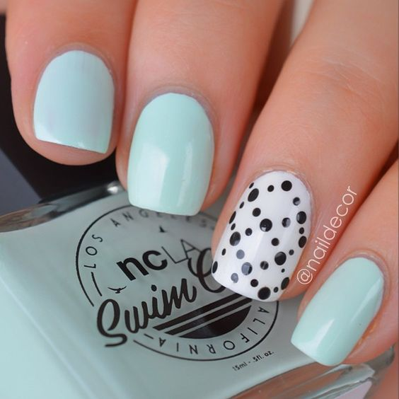 Absolutely love this summer shade by @shopncla from the Swim Club collection  it's called Take A Dip