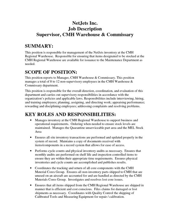 resume examples operations manager cover letter warehouse - resume warehouse worker