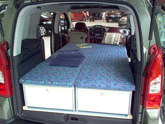 c tech campingvan minicamper citroen berlingo camper camping kangoo campers. Black Bedroom Furniture Sets. Home Design Ideas